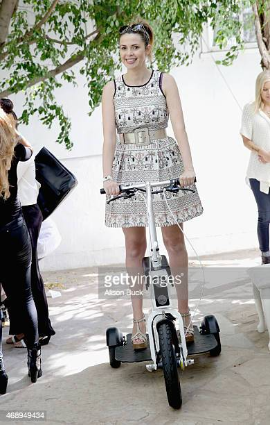 TV presenter Carly Steel attends Kari Feinstein's Music Festival Style Lounge at Sunset Marquis Hotel Villas on April 8 2015 in West Hollywood...