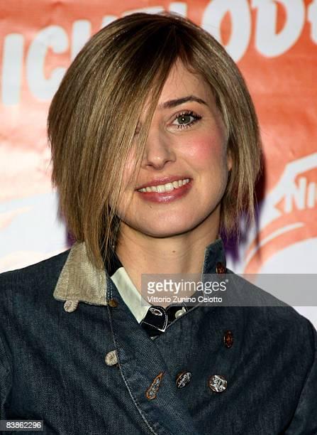 Presenter Carolina Di Domenico attends the Nickelodeon Kids' Choice Awards 2008 held at Palalido on November 30 2008 in Milan Italy