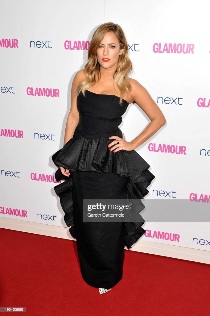 Presenter <a gi-track='captionPersonalityLinkClicked' href=/galleries/search?phrase=Caroline+Flack&family=editorial&specificpeople=4344399 ng-click='$event.stopPropagation()'>Caroline Flack</a> attends the Glamour Women of the Year Awards at Berkeley Square Gardens on June 3, 2014 in London, England.
