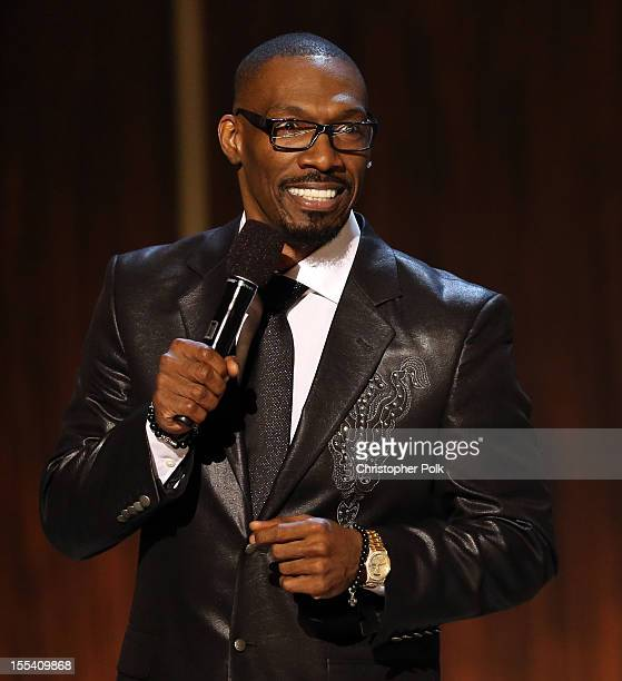 Presenter Charlie Murphy speaks onstage at Spike TV's 'Eddie Murphy One Night Only' at the Saban Theatre on November 3 2012 in Beverly Hills...