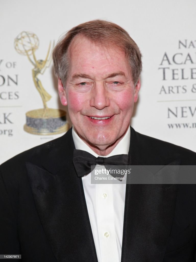 Presenter Charlie Rose attends the 55th Annual New York Emmy Awards gala at the Marriott Marquis Times Square on April 1 2012 in New York City