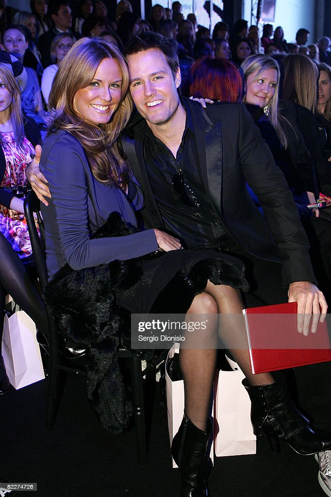 Presenter Charlotte Dawson and TV Personality Jonathan Pease attends the Fashion Targets Breast Cancer with Alex Perry and IMG Fashion gala event...