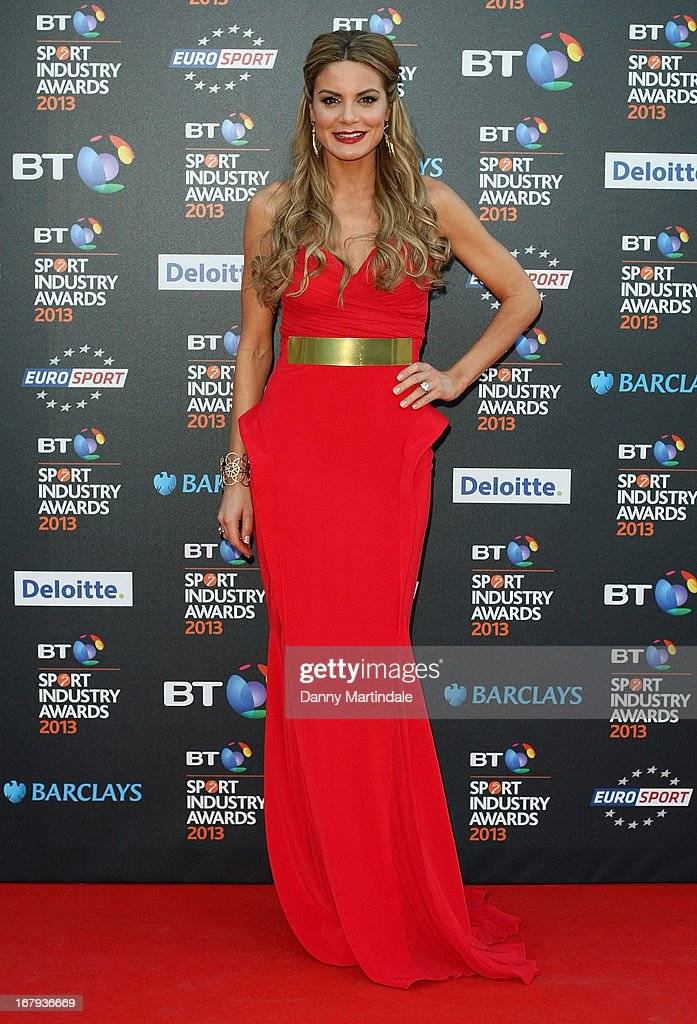 TV presenter Charlotte Jackson attends the BT Sports Industry awards at Battersea Evolution on May 2, 2013 in London, England.