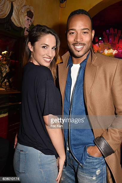 TV presenter Charlotte Namura and Jean Luc Guizonne attend Balajo 80th Anniversary Party at Balajo on December 5 2016 in Paris France