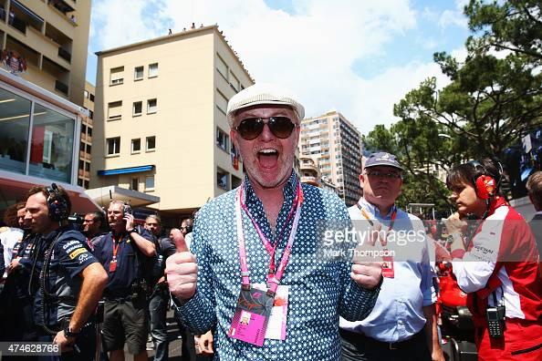 Presenter Chris Evans attends the Monaco Formula One Grand Prix at Circuit de Monaco on May 24 2015 in MonteCarlo Monaco