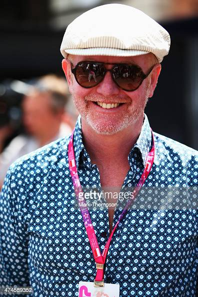 Presenter Chris Evans is seen in the paddock before the Monaco Formula One Grand Prix at Circuit de Monaco on May 24 2015 in MonteCarlo Monaco