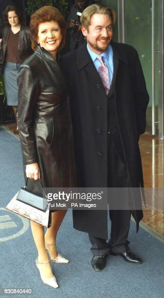 TV Presenter Cilla Black arriving for The Mirror Pride of Britain Awards at the Hilton Hotel in Park Lane London