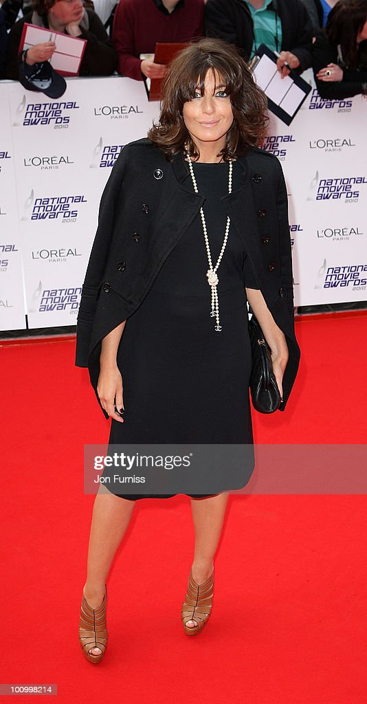 TV presenter <a gi-track='captionPersonalityLinkClicked' href=/galleries/search?phrase=Claudia+Winkleman&family=editorial&specificpeople=224036 ng-click='$event.stopPropagation()'>Claudia Winkleman</a> attends the National Movie Awards 2010 at the Royal Festival Hall on May 26, 2010 in London, England.