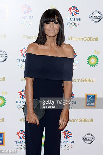 Presenter Claudia Winkleman attends the Team GB Ball at Battersea Evolution on November 30 2016 in London England