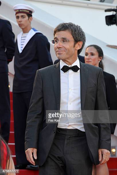 TV presenter David Pujadas attends the Premiere of 'The Little Prince' during the 68th annual Cannes Film Festival on May 22 2015 in Cannes France