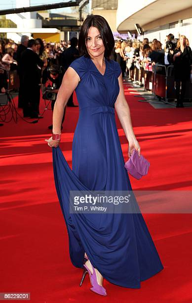 Presenter Davina McCall arrives at the BAFTA Television Awards 2009 at the Royal Festival Hall on April 26 2009 in London England
