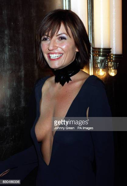 TV presenter Davina McCall at the Park Lane Hotel cental London for the Q Awards The event sponsored by music magazine Q is one of the highlights of...