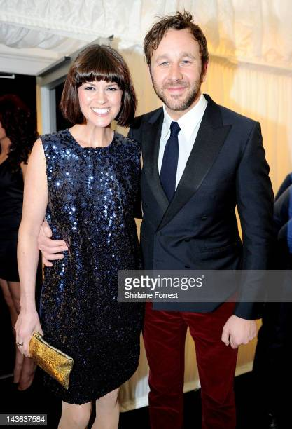 Presenter Dawn Porter and fiance Actor Chris O'Dowd attend Fashion Kicks in aid of Macmillan Cancer Support Beechwood Cancer Care Centre Stockport...