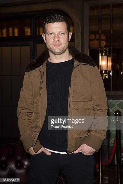 Presenter Dermot O'Leary attends the Chester Barrie show during London Fashion Week Men's January 2017 collections at on January 8 2017 in London...