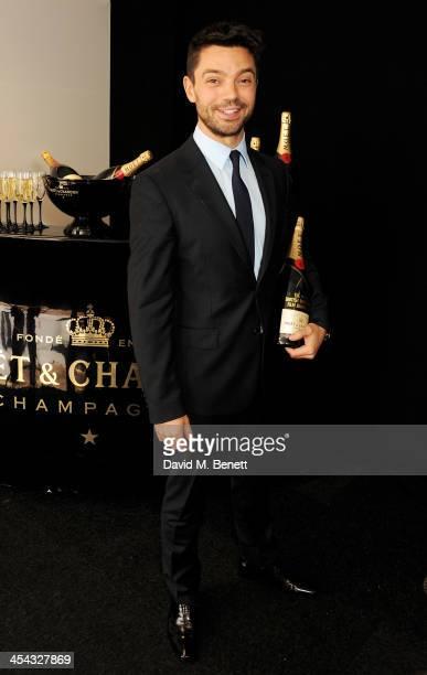 Presenter Dominic Cooper attends the Moet British Independent Film Awards 2013 at Old Billingsgate Market on December 8 2013 in London England