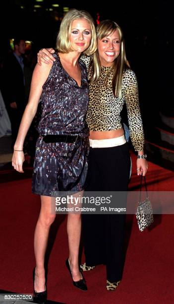 MTV Presenter Donna Air and All Saints member Nicole Appleton arrive at the Elle Style Awards ceremony held at the Home nightclub Leicester Square...