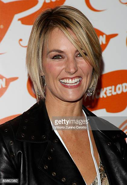 Presenter Ellen Hidding attends the Nickelodeon Kids' Choice Awards 2008 held at Palalido on November 30 2008 in Milan Italy