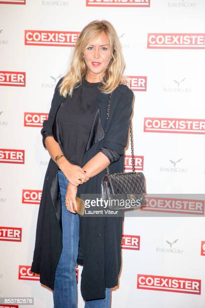 Presenter Enora Malagre attends 'Coexister' Paris Premiere at Le Grand Rex on September 25 2017 in Paris France
