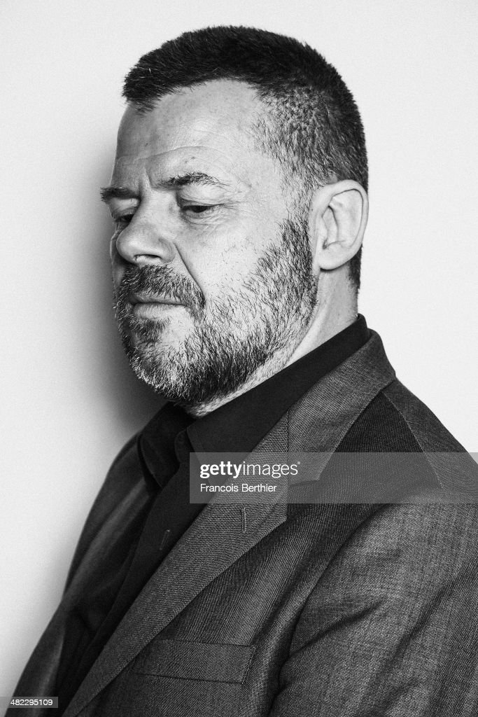 TV presenter Eric Nalleau is photographed for Self Assignment on March 10, 2014 in Paris, France.