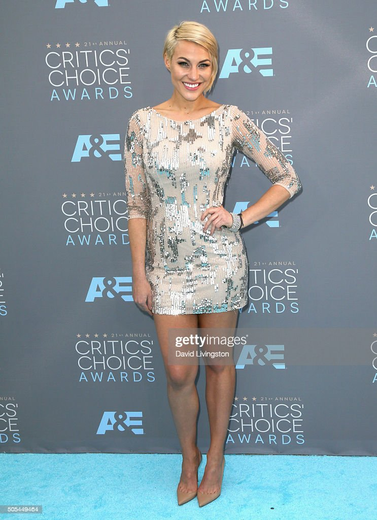 TV presenter Erin Ashley Darling attends The 21st Annual Critics' Choice Awards at Barker Hangar on January 17, 2016 in Santa Monica, California.