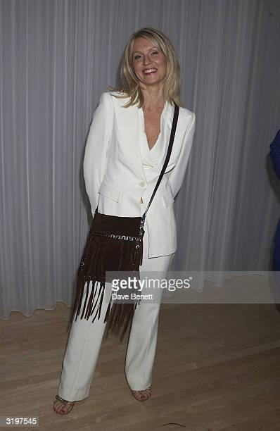 TV presenter Esther McVey at the Third Annual Sargent Cancer Care party held at the Sanderson HotelLondon and hosted by Lady Helen Taylor and Ian...