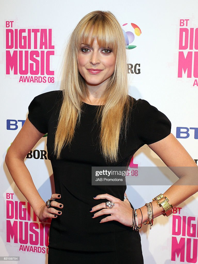 TV presenter Fearne Cotton attends the BT Digital Music Awards 2008 held at The Roundhouse on October 1 2008 in London England