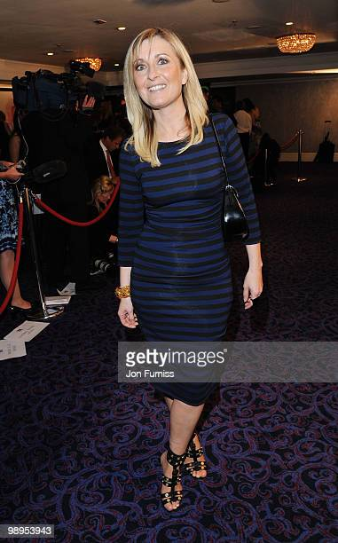 Presenter Fiona Phillips attends the Sony Radio Academy Awards held at The Grosvenor House Hotel on May 10 2010 in London England