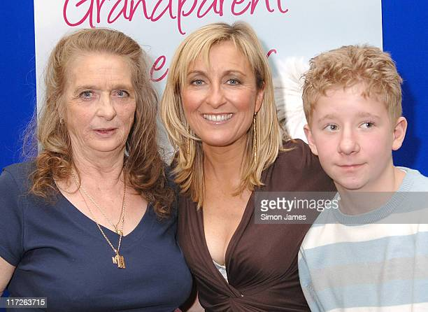 TV Presenter Fiona Phillips during 2006 Grandparent of the Year Awards at Houses of Parliament in London Great Britain