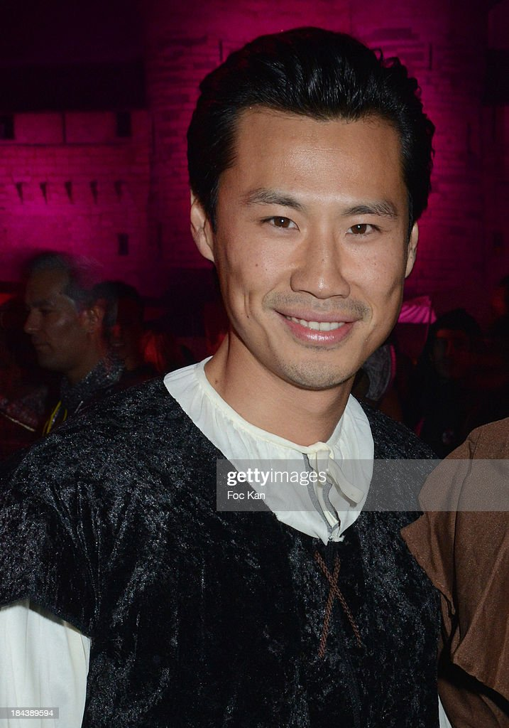 TV presenter Frederic Chau attends the 'Tournoi des 16 Royaumes' Costume Ball hosted by Les Ambassadeurs 12th Edition at the Chateau de Vincennes on October 12, 2013 in Paris, France.