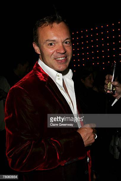TV presenter Graham Norton attends the after party following the UK premiere of 'Dreamgirls' at the Hayward Gallery on January 21 2007 in London...