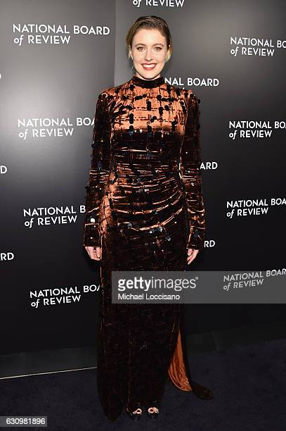 Presenter Greta Gerwig attends the 2016 National Board of Review Gala at Cipriani 42nd Street on January 4 2017 in New York City
