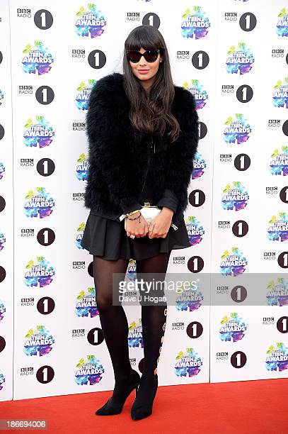 Presenter Jameela Jamil attends the BBC Radio 1 Teen Awards at Wembley Arena on November 3 2013 in London England