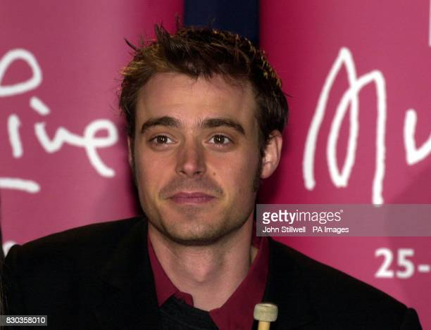 TV Presenter Jamie Theakston at the launch of BBC Music Live Tomorrow at Sound Republic in Leicester Square London *22/12/00 TV presenter Jamie...