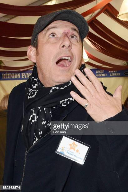 TV presenter Jean Luc Reichmann attends Foire du Trone Auction Launch Party to benefit 'Les Petits Princes' Children Care Association at Pelouse de...