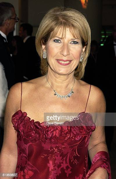 TV presenter Jennie Bond at the The Orange British Academy Film Awards held at The Odeon Leicester Square on 15th February 2004 in London