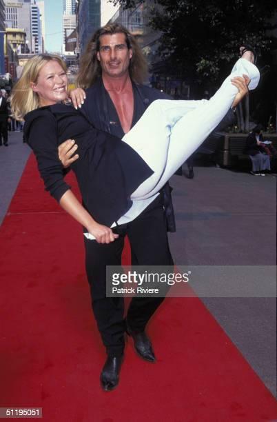 TV presenter Jo Beth Taylor and Fabio at 'Romance In Sydney' in Sydney