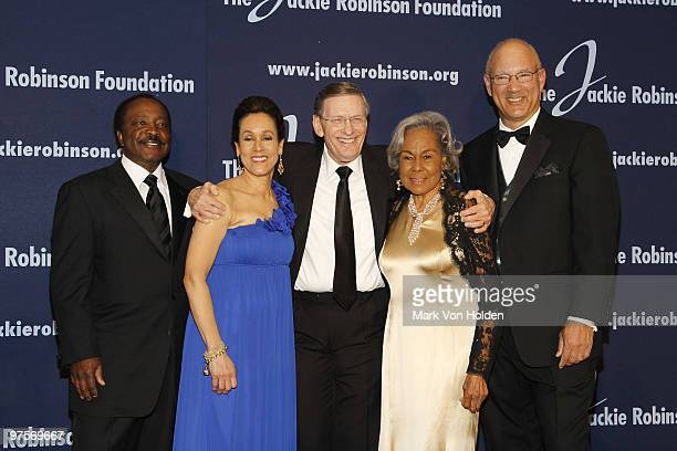 Presenter Joe Morgan President and Chief Executive Officer Della Britton Baeza MLB Commissioner Allan H 'Bud' Selig Founder Rachel Robinson and...