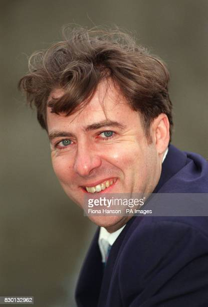 TV presenter Jonathan Ross during a photocall in Camden north London after taking delivery of his new Alabaster Vespa ET 2 scooter * Jonathan Ross...