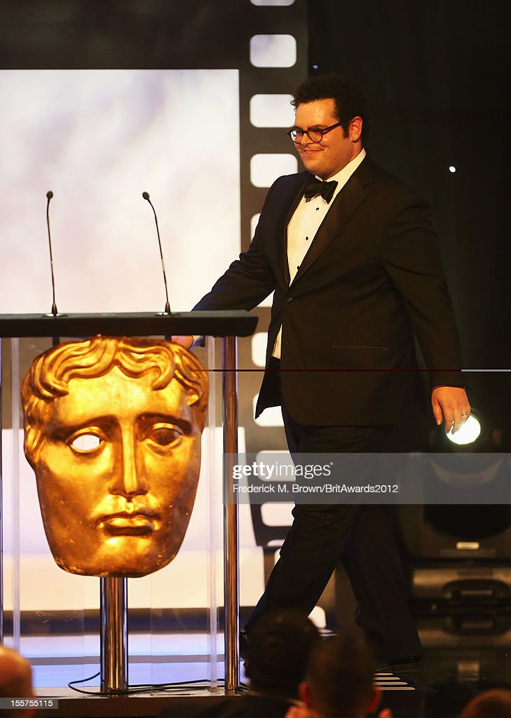 Presenter Josh gad onstage at the 2012 BAFTA Los Angeles Britannia Awards Presented By BBC AMERICA at The Beverly Hilton Hotel on November 7, 2012 in Beverly Hills, California.