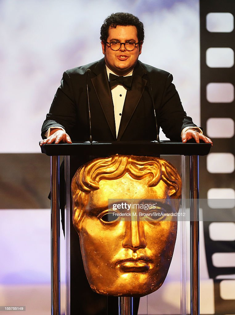 Presenter <a gi-track='captionPersonalityLinkClicked' href=/galleries/search?phrase=Josh+Gad&family=editorial&specificpeople=4196023 ng-click='$event.stopPropagation()'>Josh Gad</a> speaks onstage at the 2012 BAFTA Los Angeles Britannia Awards Presented By BBC AMERICA at The Beverly Hilton Hotel on November 7, 2012 in Beverly Hills, California.