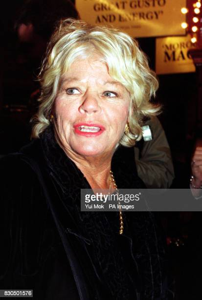 TV presenter Judith Chalmers arriving at the Piccadilly Theatre London for a charity gala performance of the musical 'La Cava' The gala is in aid of...