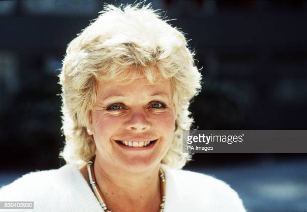TV presenter Judith Chalmers host of Thames Televisions holiday programme 'Wish You Were Here'