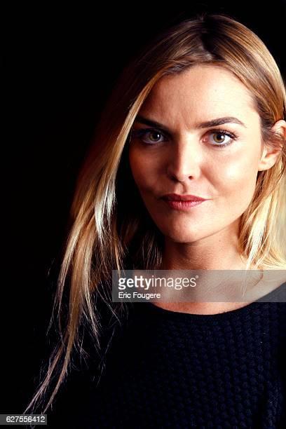 Presenter Justine Fraioli Photographed in PARIS