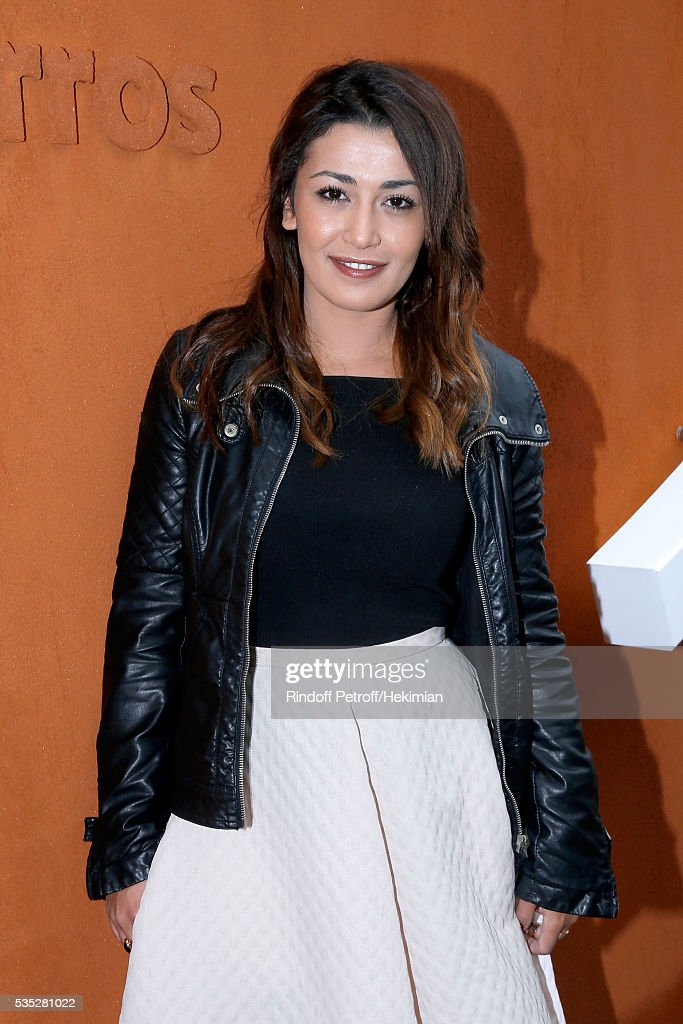 Presenter Karima Charni attends Day Height of the 2016 French Tennis Open at Roland Garros on May 29, 2016 in Paris, France.