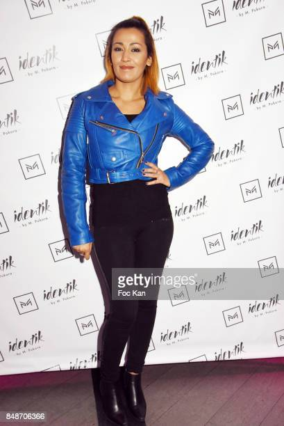 TV presenter Karima Charni attends ' Identik ' by M Pokora Launch Party at Duplex Club on September 17 2017 in Paris France