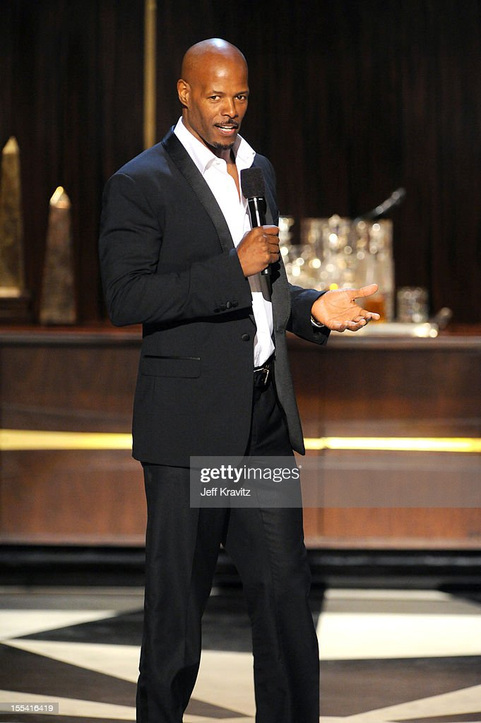 Presenter <a gi-track='captionPersonalityLinkClicked' href=/galleries/search?phrase=Keenen+Ivory+Wayans&family=editorial&specificpeople=208893 ng-click='$event.stopPropagation()'>Keenen Ivory Wayans</a> speaks onstage at Spike TV's 'Eddie Murphy: One Night Only' at the Saban Theatre on November 3, 2012 in Beverly Hills, California.