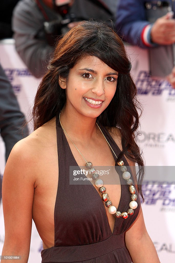 TV presenter Konnie Huq attends the National Movie Awards 2010 at the Royal Festival Hall on May 26, 2010 in London, England.