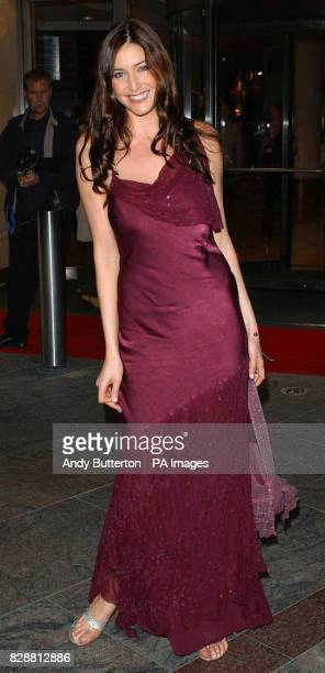 Presenter Lisa Snowdon arrives for the 7th annual Breast Cancer Care Fashion Show sponsored by Bhs and the Arcadia Group at the London Hilton Hotel...