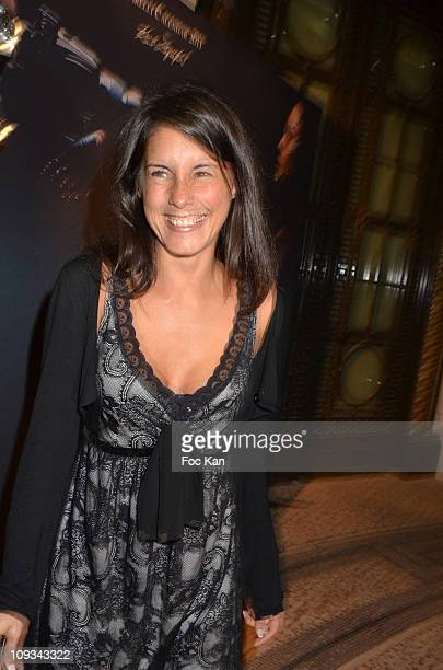 TV presenter Marion Jolles attends the Pirelli 2011 Calendar Launch at the Mini Palais on January 13 2011 in Paris France