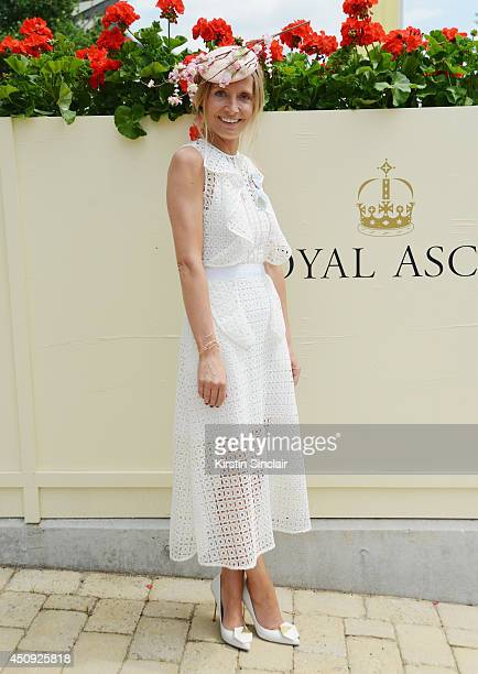 Presenter Martha Ward attends day four of Royal Ascot 2014 at Ascot Racecourse on June 20 2014 in Ascot England